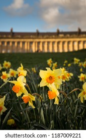 The Royal Crescent in Spring, Bath, UK