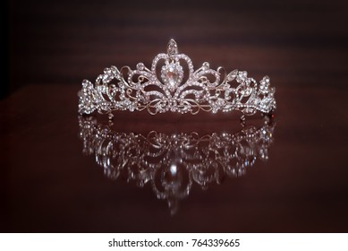 Royal crown, diadem. Wealth symbol of power and success