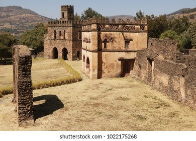 Royal Enclosure in Gondar, Ethiopia.