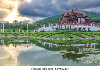 Royal Flora, Ratchaphruek Park. at Chiang Mai, Thailand.