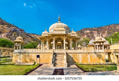 Royal Gaitor, a cenotaph in Jaipur - Rajasthan State of India