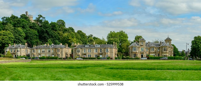 Royal Gardens residential street in Stirling, Scotland.