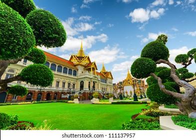 Royal grand palace in Bangkok.
