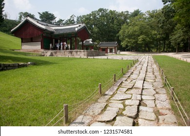 Royal Jeongneung scape in Northern Seoul