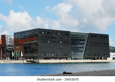 The Royal Library of Copenhagen denmark, also known as The Black Diamond.