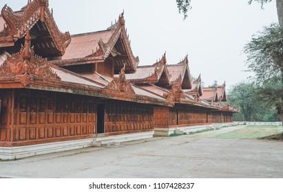 Royal Mandalay Palace is the last royal palace of the last Burmese monarchy.