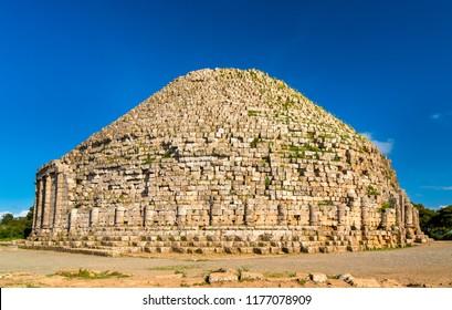 The Royal Mausoleum of Mauretania, a funerary monument in Algeria