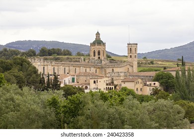 The Royal Monastery of Santa Maria de Santes Creus is one of the jewels of medieval art and is located in the Catalan town of Santes Creus, capital of the municipality Aiguamurcia (Alt Camp).