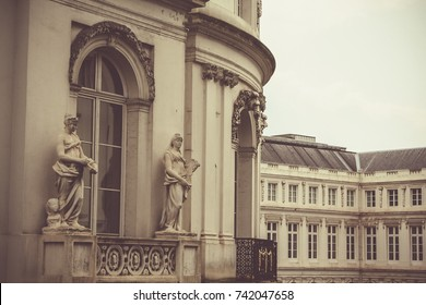 Royal Museums of Fine Arts of Belgium  - exterior, detail