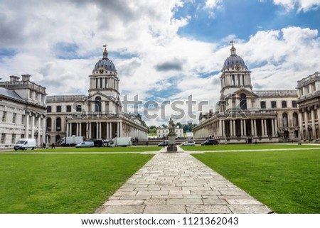 Royal naval college, Greenwich, London, England, Europe