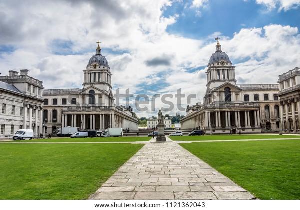 Royal naval college, Greenwich, London, England, Europe