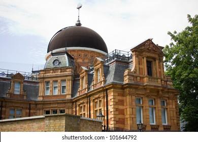 Royal Observatory, Greenwich Park, London England