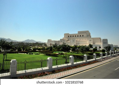 Royal opera house in Muscat, Oman. 2014 March