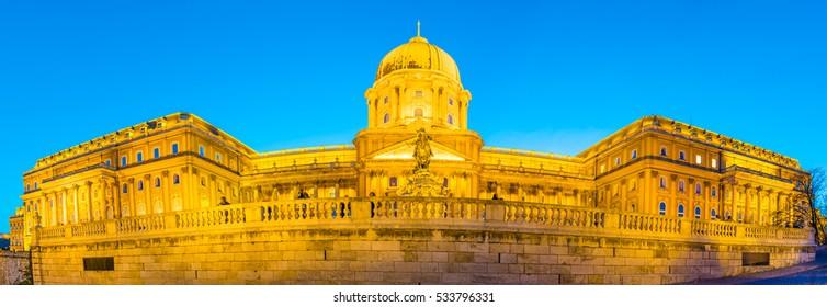 Royal Palace in Budapest, Hungary.