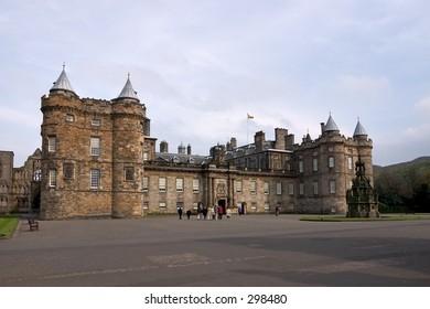 Royal palace of Holyroodhouse, Edinburgh, Scotland