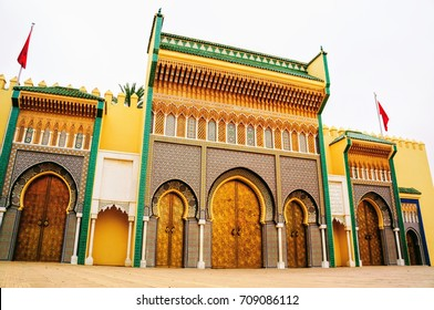 Royal Palace in Rabat, Morocco