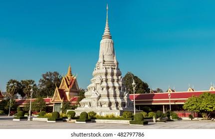 Royal Palace and Silver Pagoda, Phnom Penh, Cambodia