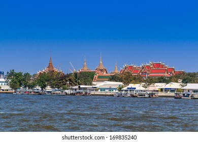 Royal Palace and Wat Phra Kaew in Bangkok, Thailand