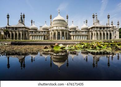 Royal Pavilion in Brighton, England,June 27,2017
