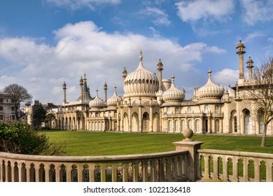 Royal Pavilion, Brighton, Sussex, England, UK.