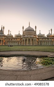 Royal Pavilion is a building, formerly a royal residence, located in Brighton, England. It was built in the early 19th Century as a seaside retreat for the then Prince Regent.