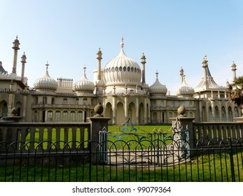 Royal Pavilion, built by King George IV, in Brighton, England