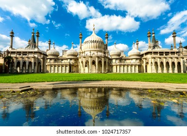 Royal pavilion palace in brighton england, King George IV's summer house and Regency folly