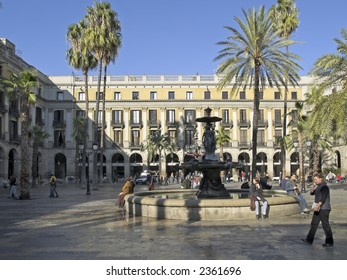 The royal place, Barcelona