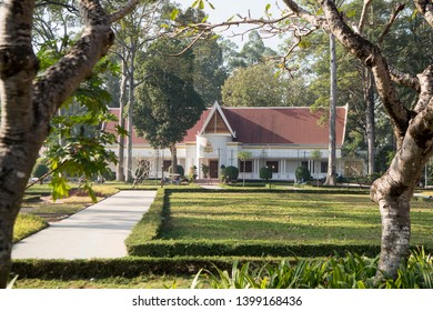 Royal Residence in the city of Siem Reap in northwest of Cambodia.   Siem Reap, Cambodia, November 2018
