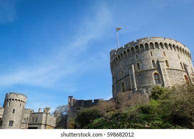 the royal residence of uk royal family, Windsor castle