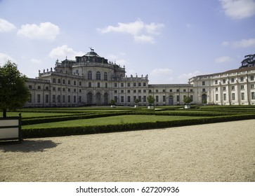 Royal Savoia residence in Stupinigi, build starting from 1729, front view