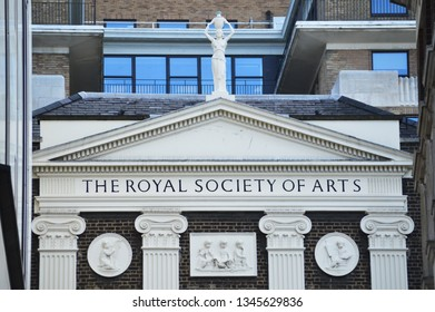 The Royal Society Of arts, London, 11th of March 2019