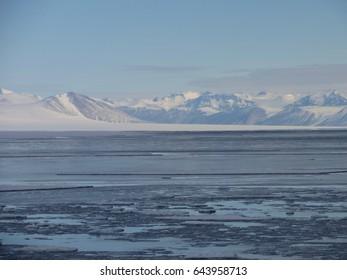 Royal Society Range Antarctica McMurdo Sound Ross Sea