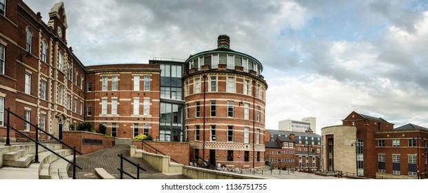 Royal Standard Place in Nottingham, UK