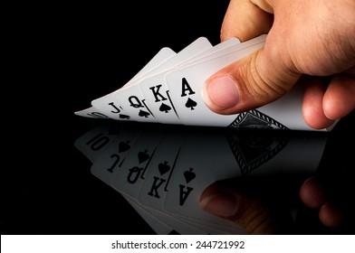 Royal Straight Flush , card game