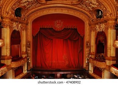 Royal Swedish Opera in Stockholm, interior