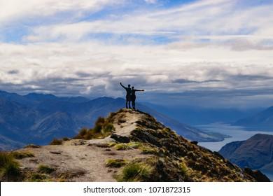 Roys Peak Hike - Hikers