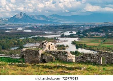Rozafa Castle and views