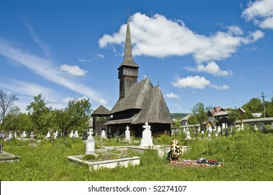 Rozavlea, traditional church of northern Romania