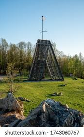 Rozhledna Bára, Chrudim, Czech republic, lookout tower