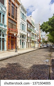 Rua do Bom Jesus, Recife, Pernambuco, Brasil.