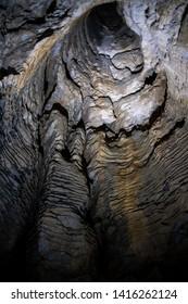 Ruakuri Cave in Waitomo New Zealand