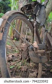 rub the swinging bike
