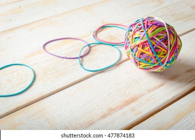 Rubber Bands and a Rubber Band Ball