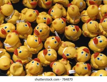 Rubber duck race, Rideau Canal, Ottawa, Ontario, Canada