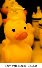 Rubber Duck Soap Dispenser