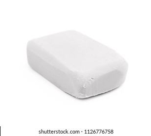 Rubber eraser isolated over the white background
