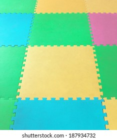 rubber foam Puzzles  background