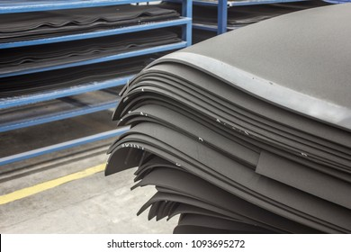 Rubber foam sheets industrial material production of seals and other aplications
