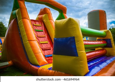 Rubber obstacle course
